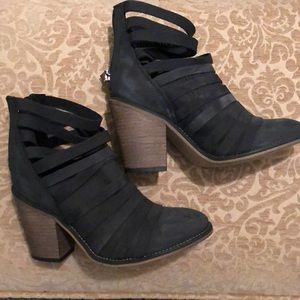 Free people grey booties size 7